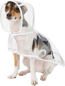 dog raincoat with hood