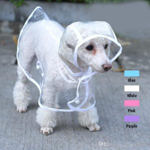 small dog raincoat with hood